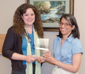 V-Red Award. Dr. Durney - Angie Kissner.resized
