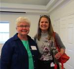 Elaine Holmes and Elizabeth Brant 5.2015