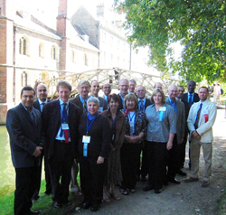First International Patient Symposium, Cambridge, England, 2007.