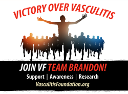 Victory Over Vasculitis: VF Team Brandon, 2016.