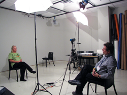 Ed Becker begins producing and directing patient video stories, 2012.