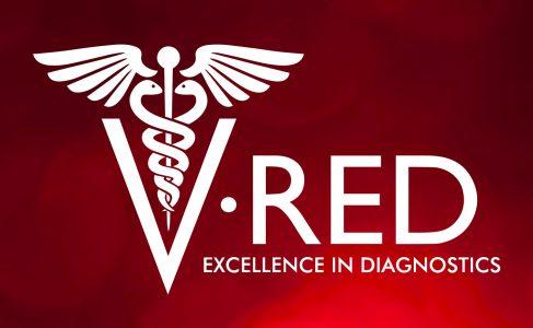 V-RED logo Website